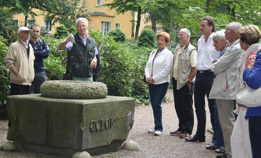 Cdu Stadtverband Minden Rundgang Durch Den Botanischen Garten In